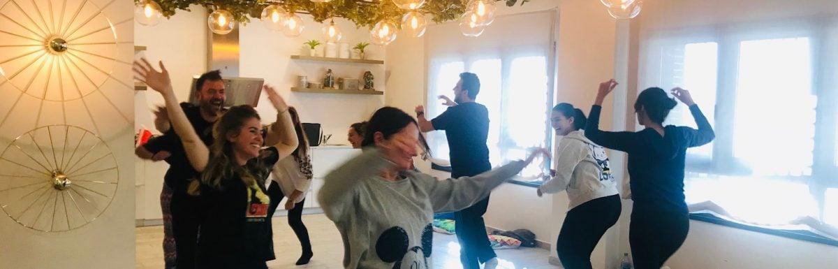 Un taller de Risoterapia, nuestro primer regalo de Diciembre